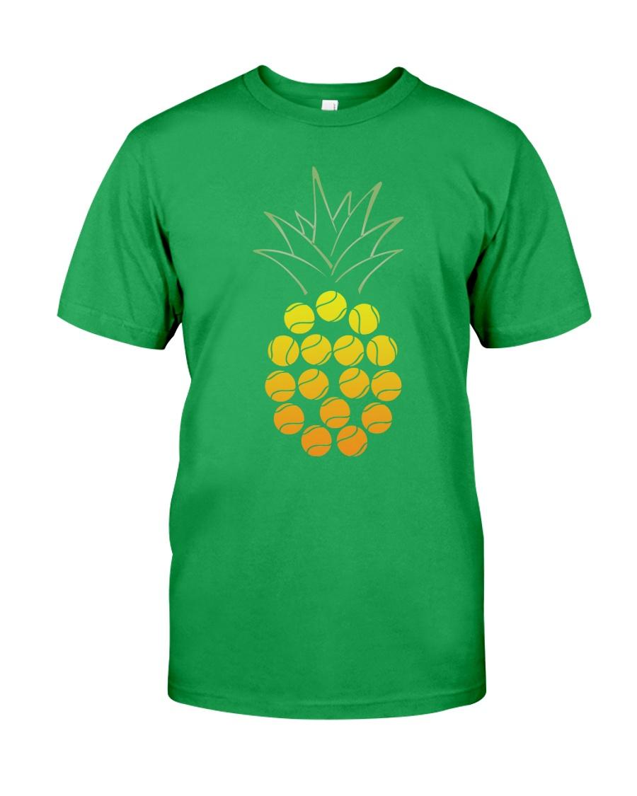 Tennis Pineapple Classic T-Shirt showcase
