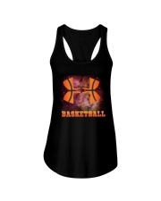 Basketball  Beauty Ladies Flowy Tank thumbnail