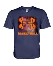 Basketball  Beauty V-Neck T-Shirt thumbnail