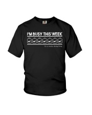 Scuba Diving Busy This Week Youth T-Shirt thumbnail