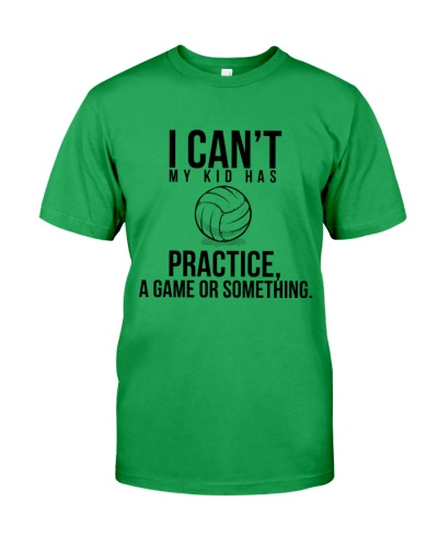 I Can't Practice Volleyballs