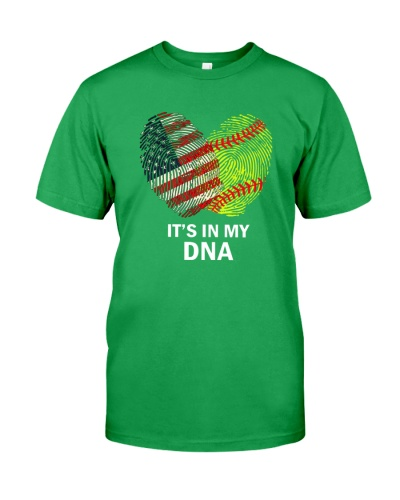Softball It's In My DNA