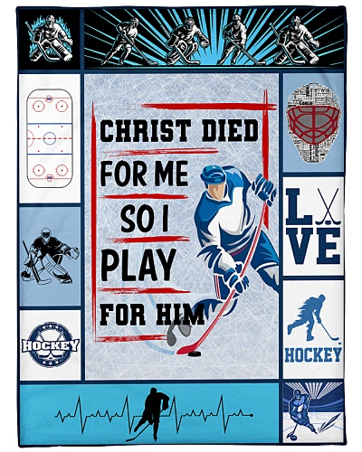 Hockey Funny Christ Died For Me Graphic Design