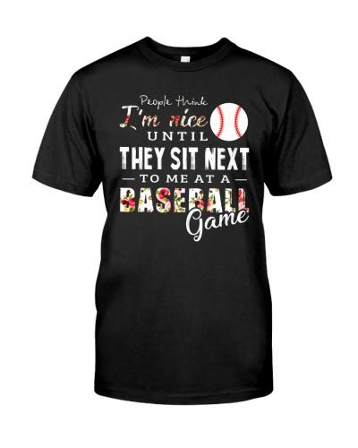 People Think I Am A Baseball