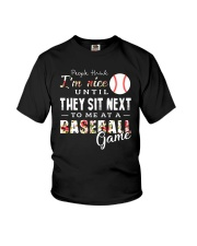 People Think I Am A Baseball Youth T-Shirt tile