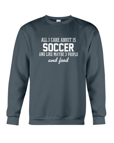 All I care about is soccer