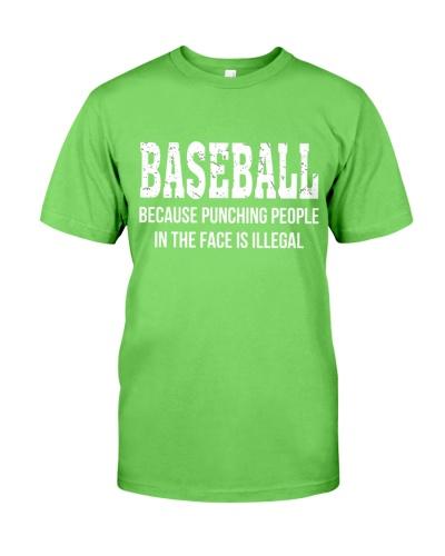 Baseball Punching People