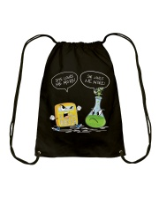 Math And Chemistry She Loves Me More Drawstring Bag thumbnail