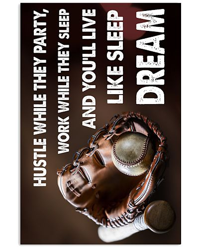 You'll Live Life Sleep Dream Baseball