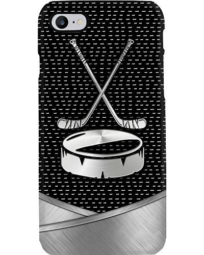 Hockey Metal Phonecase