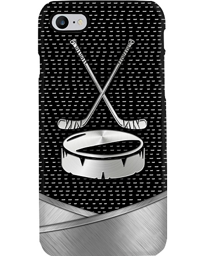 Hockey Metal Phonecase