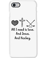 All I Need Is Love And Hockey  Phone Case thumbnail