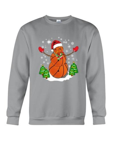 Basketball Christmas Snowman