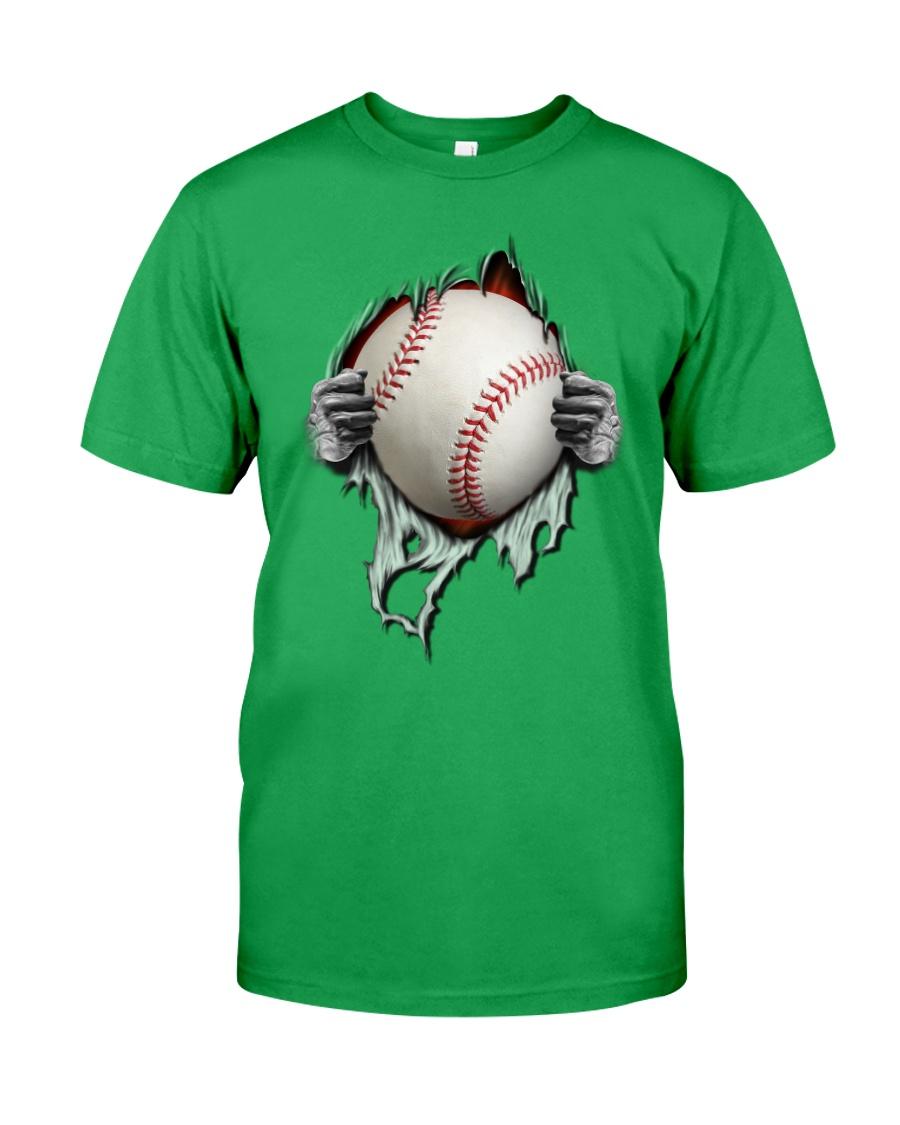 baseball inside me Classic T-Shirt