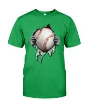 baseball inside me Classic T-Shirt front
