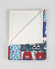 "Hockey Funny This Is My Happy Place Graphic Design Small Fleece Blanket - 30"" x 40"" aos-coral-fleece-blanket-30x40-lifestyle-front-17"