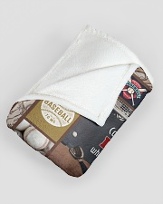 """Baseball Commit To The Lord Large Fleece Blanket - 60"""" x 80"""" aos-coral-fleece-blanket-60x80-lifestyle-front-07"""
