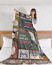 """Baseball Commit To The Lord Large Fleece Blanket - 60"""" x 80"""" aos-coral-fleece-blanket-60x80-lifestyle-front-11"""
