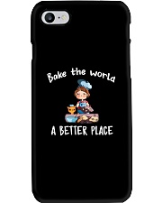 Bake The World A Better Place Phone Case thumbnail