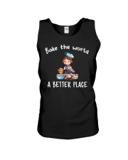 Bake The World A Better Place Unisex Tank thumbnail