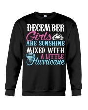 December Are Sunshine T Shirt Quotes Funny Gifts Crewneck Sweatshirt thumbnail
