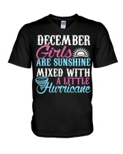 December Are Sunshine T Shirt Quotes Funny Gifts V-Neck T-Shirt thumbnail