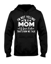 I'm A Mom Of Four Kids Mothers Day T Shirt Hooded Sweatshirt thumbnail