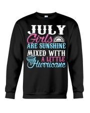 July Are Sunshine T Shirt Quotes Funny Birthday Crewneck Sweatshirt thumbnail