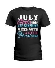 July Are Sunshine T Shirt Quotes Funny Birthday Ladies T-Shirt front