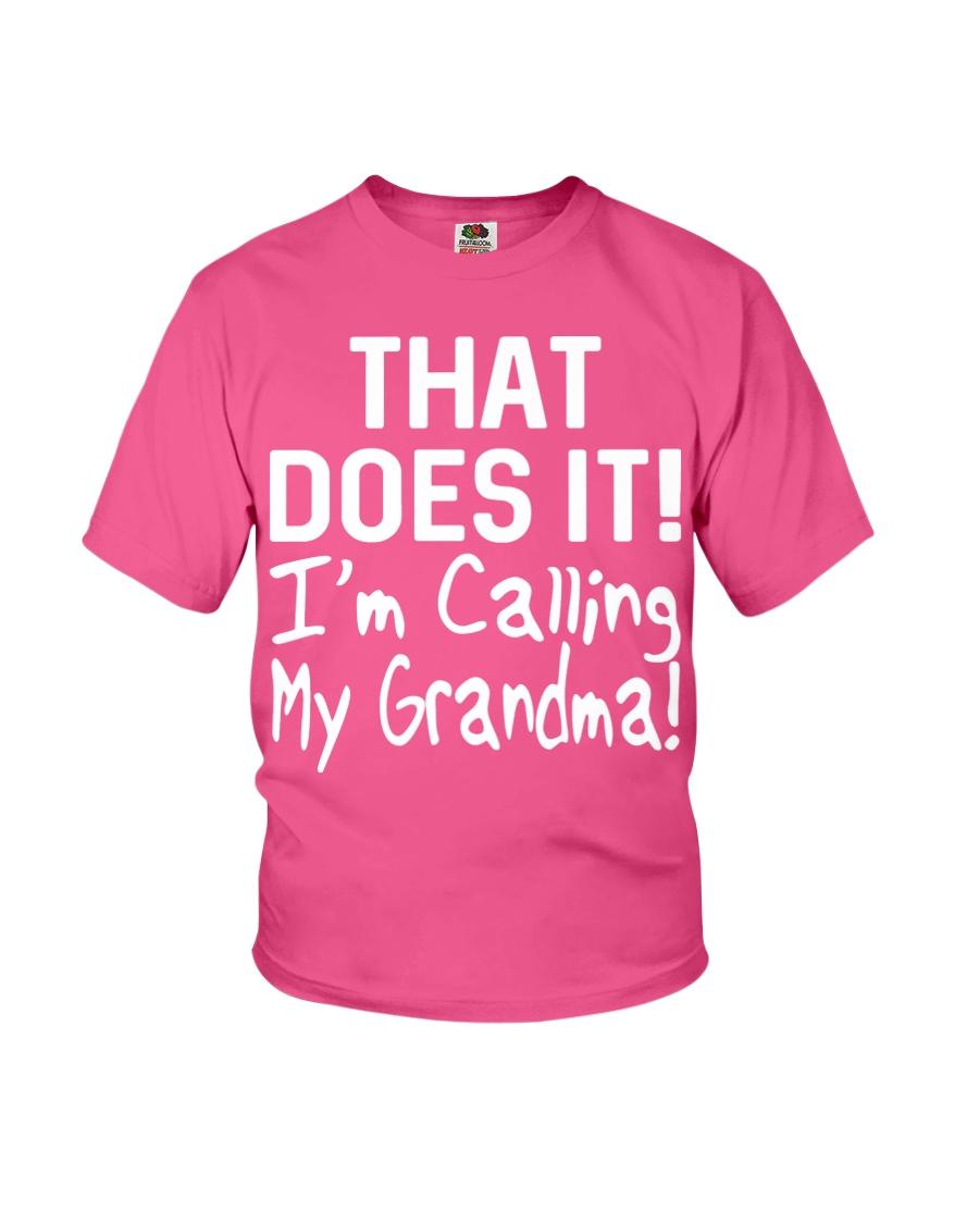 Calling Grandma Youth T-Shirt