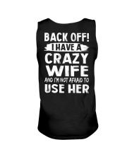 Back Off - Crazy Wife Unisex Tank thumbnail
