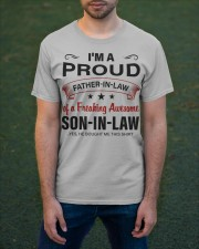 I'M PROUD FATHER-IN-LAW Classic T-Shirt apparel-classic-tshirt-lifestyle-front-42