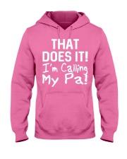 Calling Pa Hooded Sweatshirt thumbnail