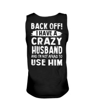 Back Off - Crazy Husband Unisex Tank thumbnail