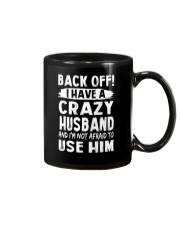 Back Off - Crazy Husband Mug thumbnail