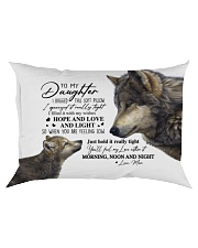 HOPE AND LOVE AND LIGHT - BEST GIFT FOR DAUGHTER Rectangular Pillowcase front