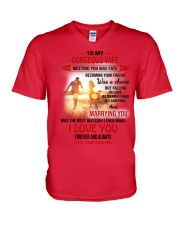 1 DAY LEFT - GET YOURS NOW V-Neck T-Shirt front