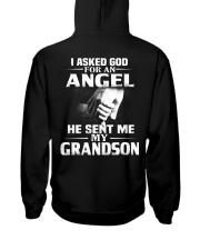 God Sent Me Grandson Hooded Sweatshirt thumbnail