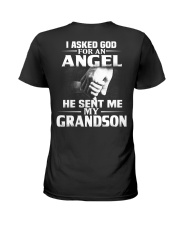 God Sent Me Grandson Ladies T-Shirt thumbnail