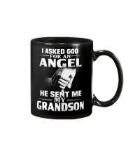 God Sent Me Grandson Mug thumbnail