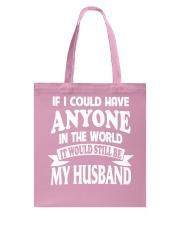 I Have My Husband Tote Bag thumbnail