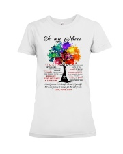 REMEMBER THAT YOU MEAN THE WORLD TO ME Premium Fit Ladies Tee thumbnail