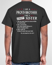 I AM A PROUD BROTHER Classic T-Shirt garment-tshirt-unisex-back-04