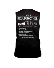 I AM A PROUD BROTHER Sleeveless Tee thumbnail