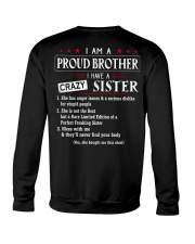 I AM A PROUD BROTHER Crewneck Sweatshirt thumbnail