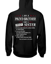 I AM A PROUD BROTHER Hooded Sweatshirt thumbnail