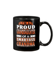Proud Granddaughter Of A Smartass Grandma Mug thumbnail