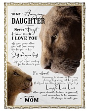 """I'LL ALWAYS BE WITH YOU - GREAT GIFT FOR DAUGHTER Small Fleece Blanket - 30"""" x 40"""" thumbnail"""