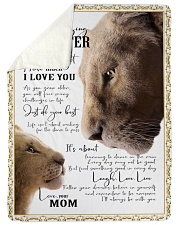 """I'LL ALWAYS BE WITH YOU - GREAT GIFT FOR DAUGHTER Large Sherpa Fleece Blanket - 60"""" x 80"""" thumbnail"""