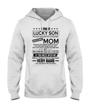 I AM A LUCKY SON - SON FROM MOM  Hooded Sweatshirt thumbnail